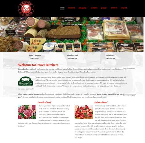 Bluestar Website Design 2