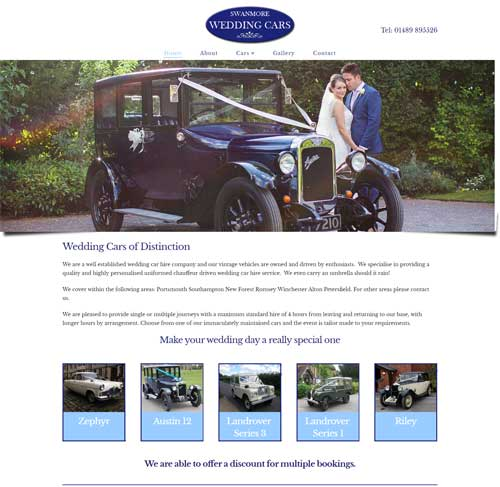 Bluestar Website Design 2